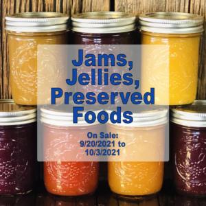 2021 Jams and Jellies